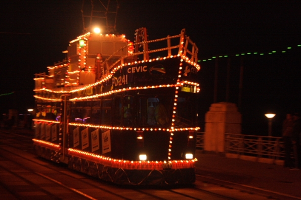 Fishermans Friend - Illuminated Tram