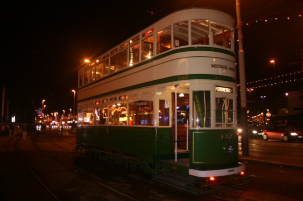 Renovated Vintage tram