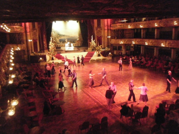 Blackpool Ballroom dancers