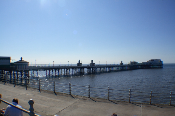 North Pier from the Prom.