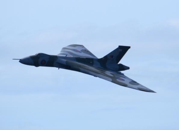 The last flying Volcan Bomber