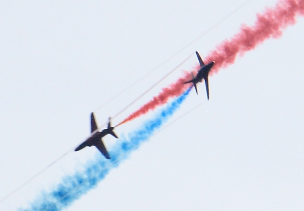 Red Arrows close Encounter